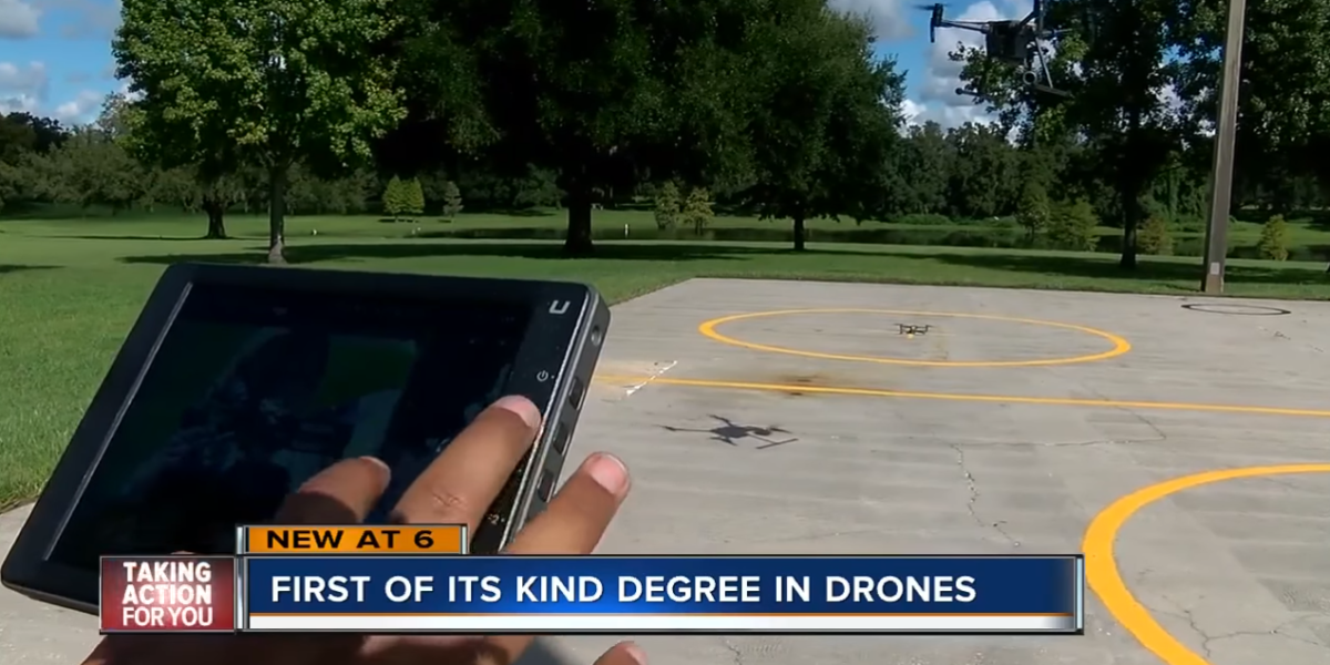 Drone School on the News